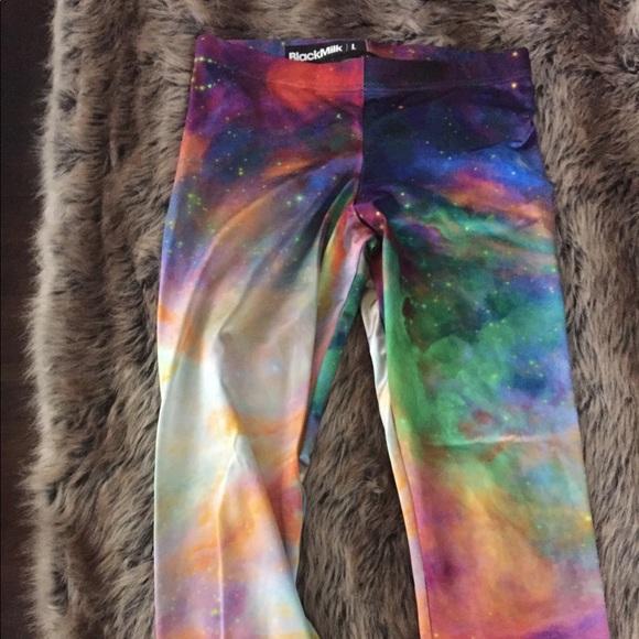 f734387a7ce78f Blackmilk Pants | Black Milk Galaxy Lux Leggings | Poshmark